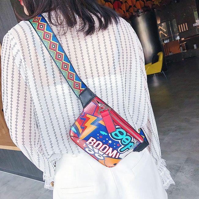 Modern oldal táska- 3 változat