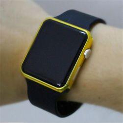 Zegarek LED w czterech kolorach - cyfrowy Złoty