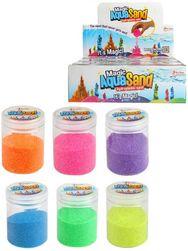 Aqua Sand písek magický sliz kouzelný vodní různé barvy do vody v doze SR_841287