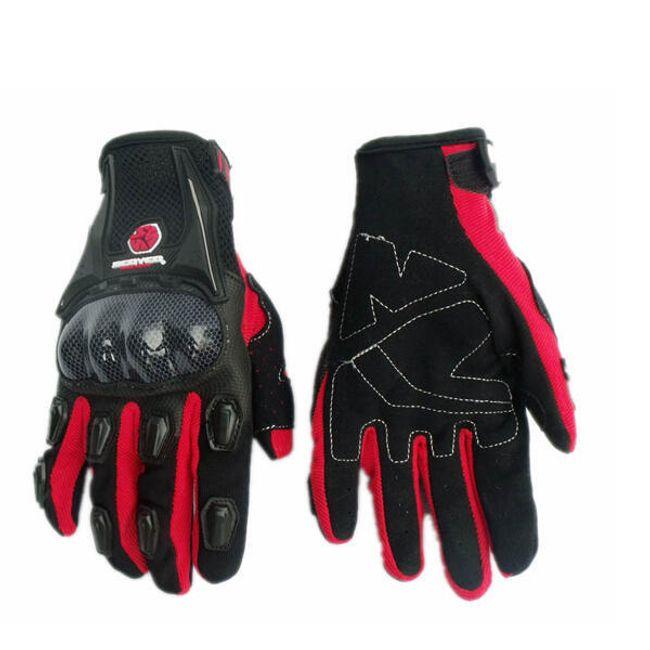 Motocyklistické rukavice ve 3 barevných provedeních 1