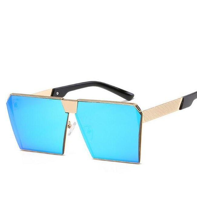 Velké hranaté sluneční brýle - 8 barev 1