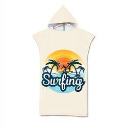 Пляжное полотенце с капюшоном HT69