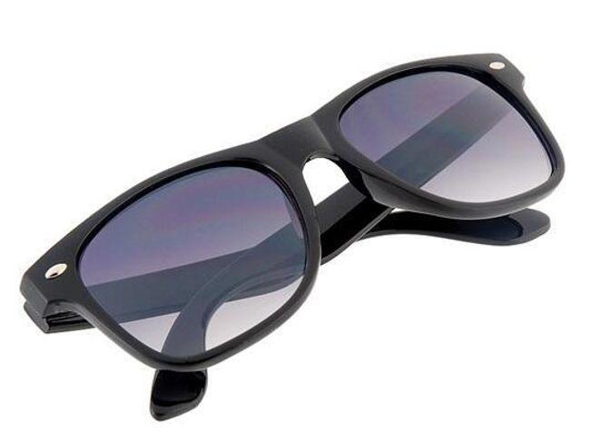 Męskie okulary przeciwsłoneczne w kolorze czarnym 1