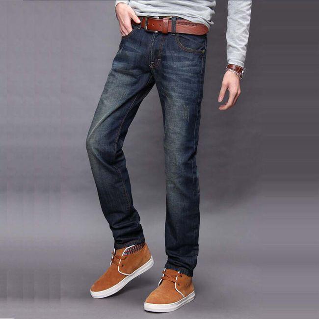 Ležérní pánské džíny 1