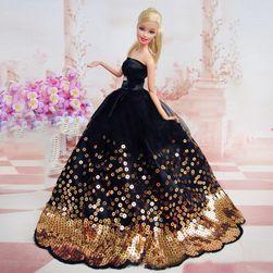 Estélyi ruha Barbie baba számára