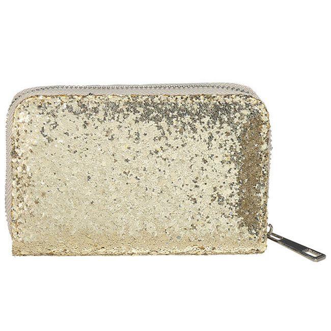 Női pénztárca csillogással - 4 szín