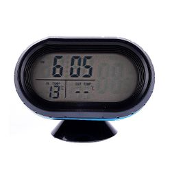 Automobilski termometar i voltmetar sa displejom sa pozadinskim osvetljenjem