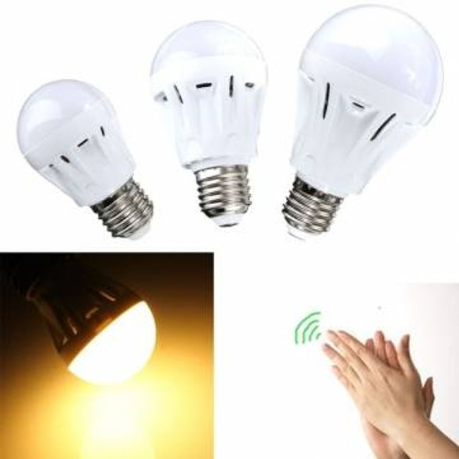 Ses sensörlü LED ampul 1