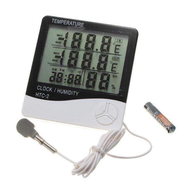 Digitalni termometer in higrometer z zunanjim senzorjem 1
