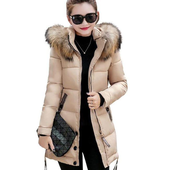 Luxusní kabát Yaretzi - 5 barev 1