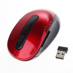 Bezprzewodowa mysz USB - 3 kolory