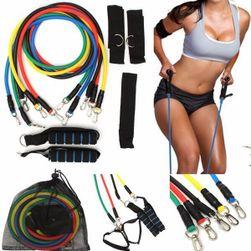 Kötélkészlet jóga- és pilates-edzéshez - 11 db