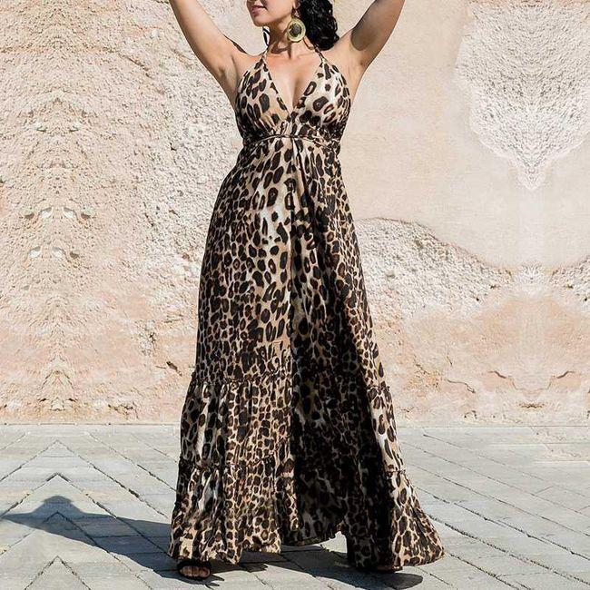 Dlouhé dámské šaty Joanne 1