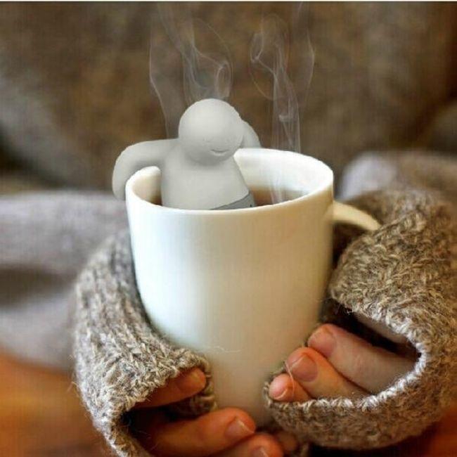 Sită de ceai - omuleț 1