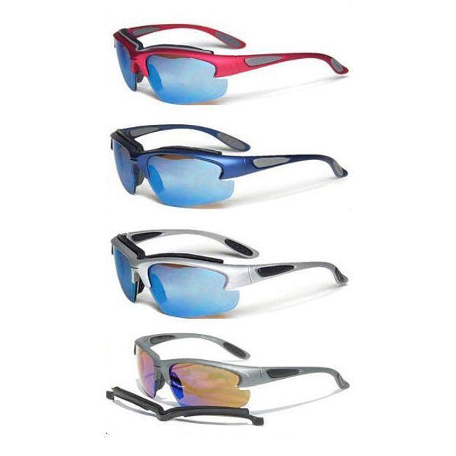 Sportovní brýle s výměnnými skly a dalšími doplňky 1