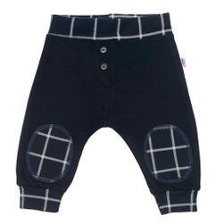 Niemowlęce bawełniane spodnie dresowe ciemne RW_43468