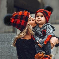 Téli kalap anyának és babának Bryan