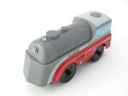 Dřevěná lokomotiva XJ5
