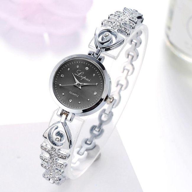 Dámské hodinky s kamínky - 4 varianty 1