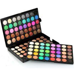 Paleta cieni do powiek - 120 kolorów