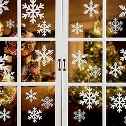 Autocolant cu motive de Crăciun pentru fereastră