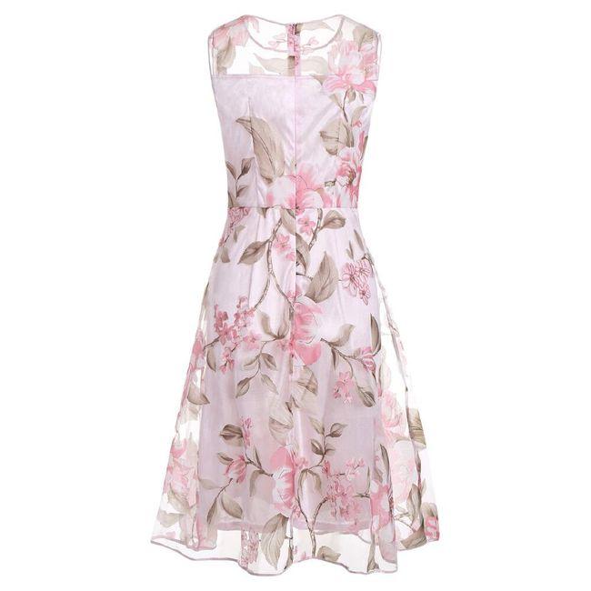 Jemné květované šaty Eliana - velikost č. 5 1