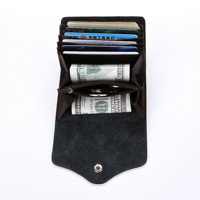 Malá peněženka s množstvím přihrádek 1
