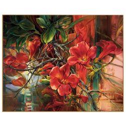 Obraz z kwiatami - wykonaj go sam
