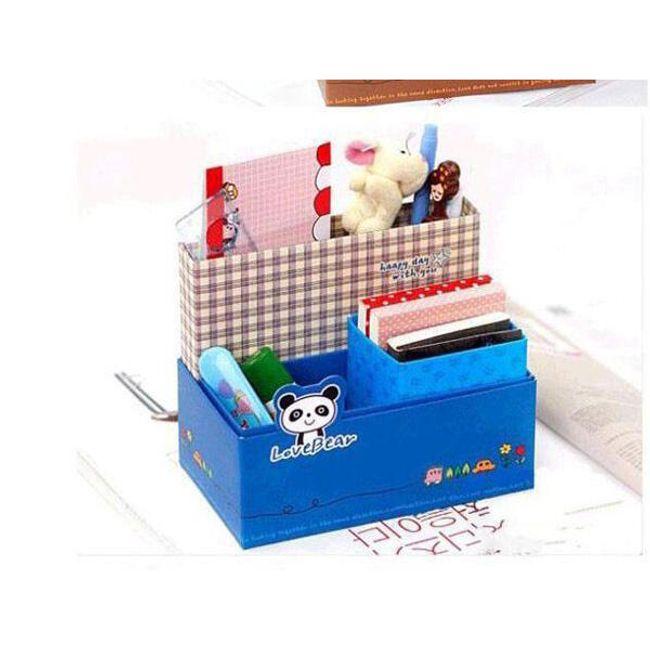Papírový organizér na psací stůl 1