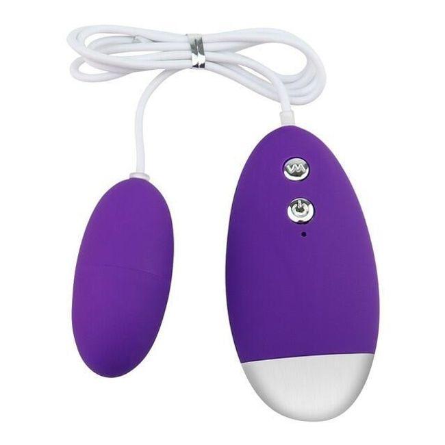 Vibrační vajíčko s ovladačem Juliane 1