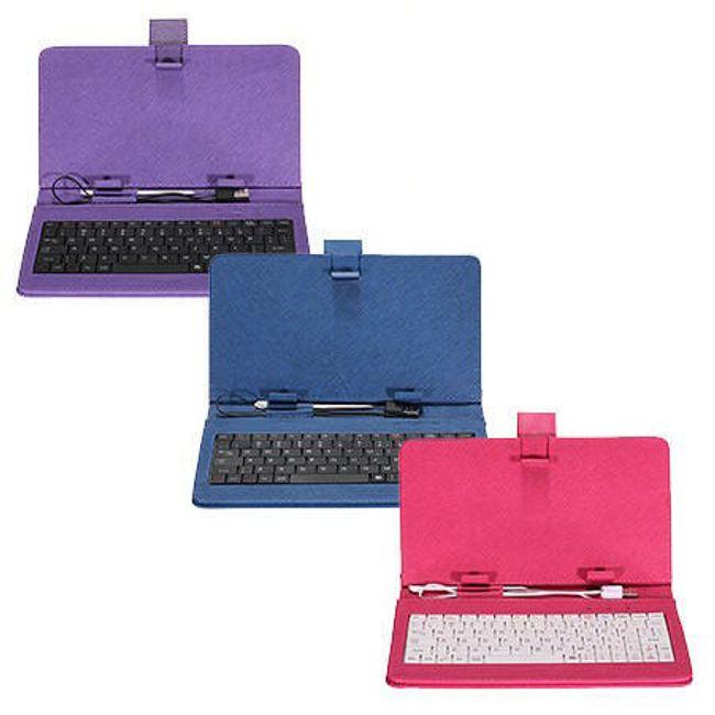 Etui na tablet z klawiaturą USB do tabletów 7