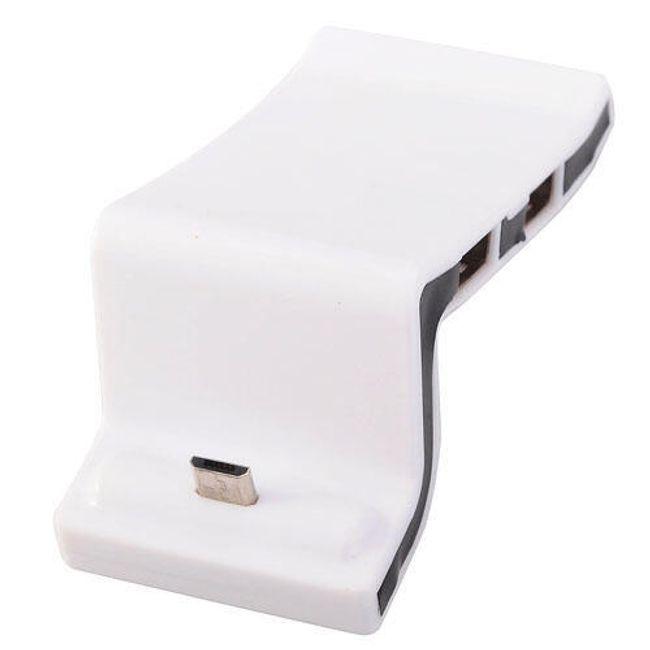 Stacja dokująca z micro USB i 3-portową stacją USB 2.0 HUB 1
