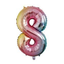 Nafukovací balónky čísla - 8 SR_DS12267343