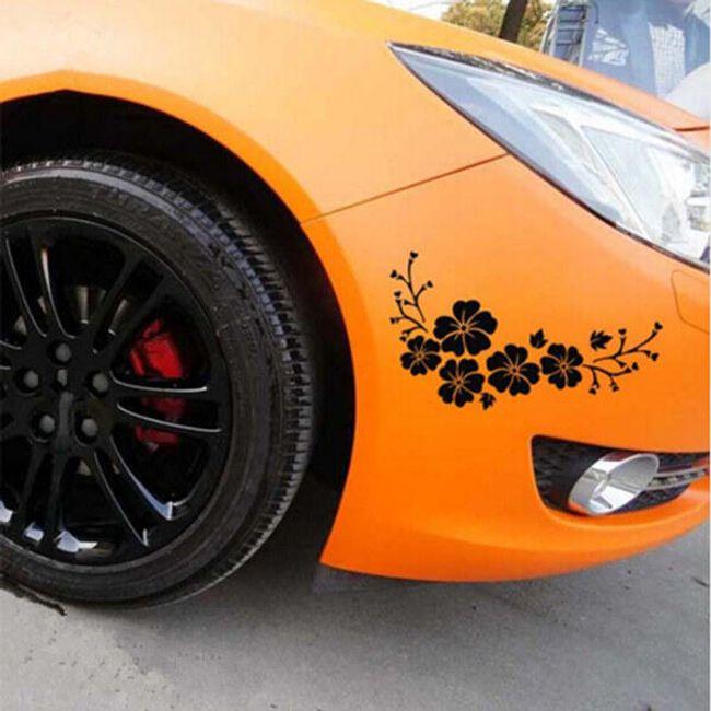 Cvetlična nalepka za avtomobile 1