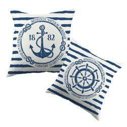 Povlak na polštář - mořský styl