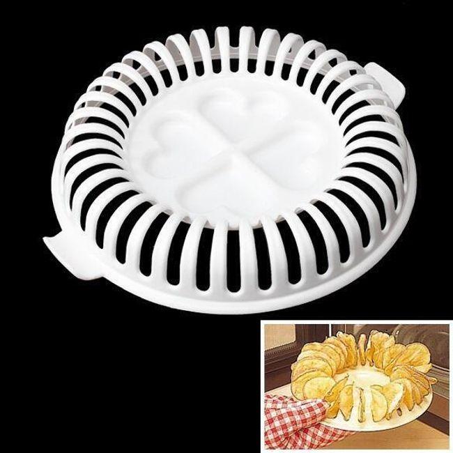 Форма для приготовления чипсов в микроволновке 1