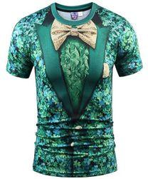 Tricou pt. bărbați cu un design original - 14 variante