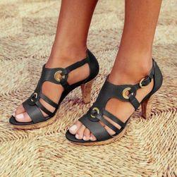 Pantofi cu toc de damă DB4 Negru - mărime 5