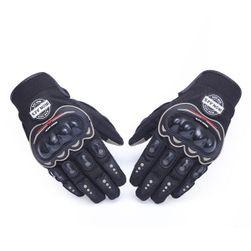 Prodyšné motorkářské rukavice