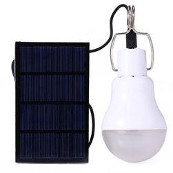 LED žiarovka so solárnym napájaním