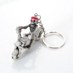 Ключодържател със скелет на мотоциклет