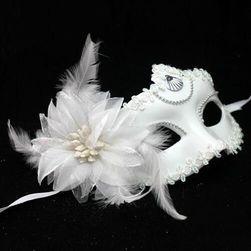 Stylowa maska karnawałowa