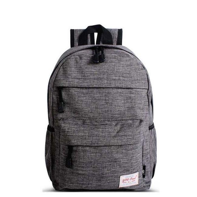 Chlapecký školní batoh - 3 barvy 1