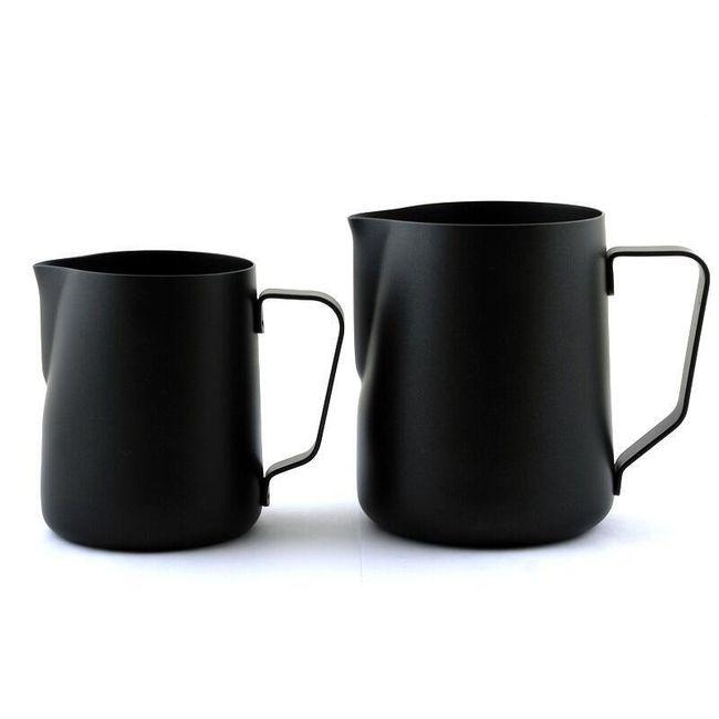 Hrnek na kávu z nerezové oceli - 2 varianty 1