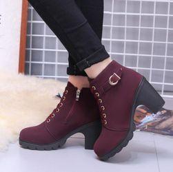 Ženski čevlji z visokimi petami - 4 barve