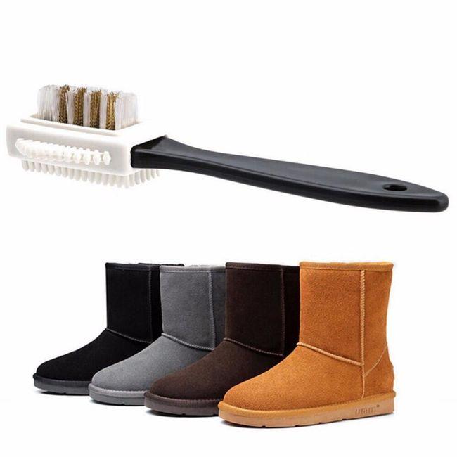 Cipőkefe három felülettel