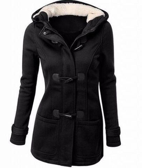 Dámská mikina Bella ve stylu kabátu s knoflíky - 8 barev 1