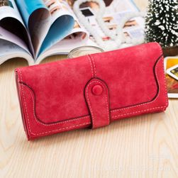 Női pénztárca retro stílus - több szín