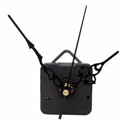 Механизм для настенных часов со стрелками в чёрном цвете
