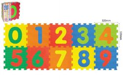Hab puzzle Digits 32x32x1cm 10db táskában 10m + RM_49118620